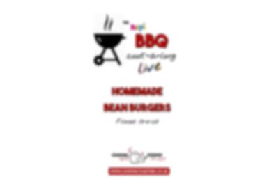 BBQ COOKALONG LIVE - BEAN BURGERS INTRO.