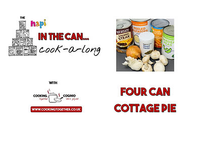 IN THE CAN COOKALONG - 4 CAN COTTAGE PIE