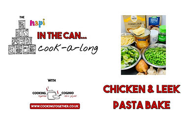 IN THE CAN COOKALONG - CHICKEN PASTA INT