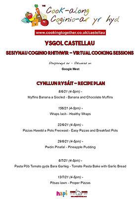 RECIPE PLAN - YSGOL CASTELLAU.jpg