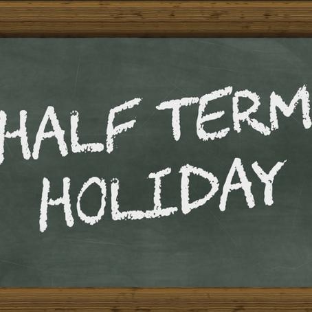 Woohoo...half term has finally arrived!