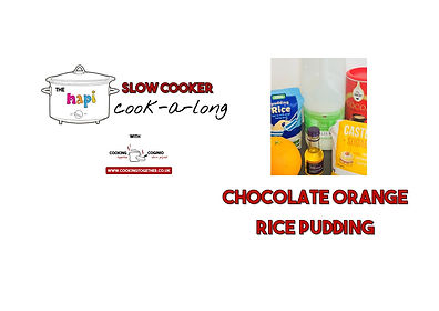 SLOW COOKER COOKALONG - chocolate rice P