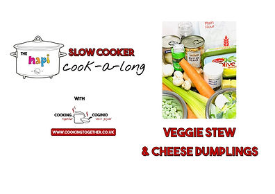 SLOW COOKER COOKALONG - stew and sumplin