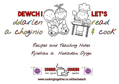 BACH A IACH LETS READ AND COOK - POWYS R