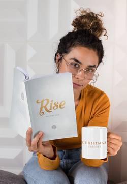 """""""Rise"""" is a conceptual design for an advent series for HNW Church"""