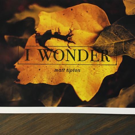 I Wonder | 2016