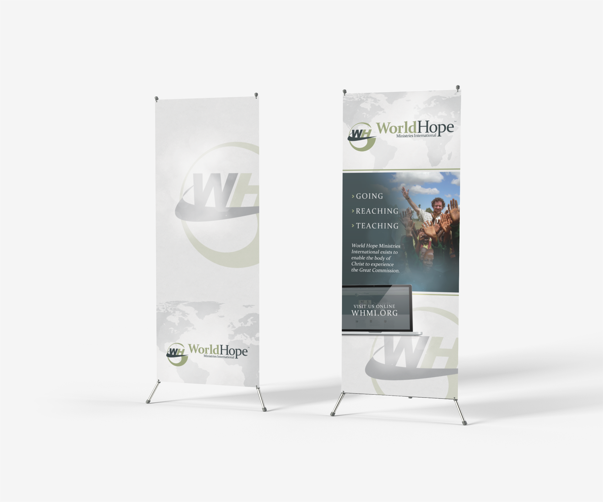 World Hope Ministries Int. Banners
