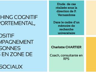 Le coaching cognitif et comportemental, un dispositif d'accompagnement des personnes entrées en