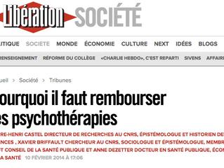 Pourquoi faut-il rembourser les psychothérapies ?