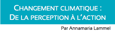 Changement climatique perception