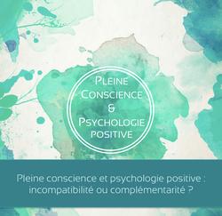 Pleine conscience psychologie positi
