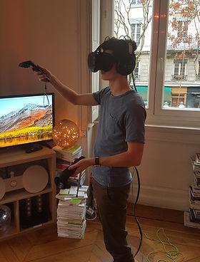 Cabinet Chrysippe - Réalité virtuelle