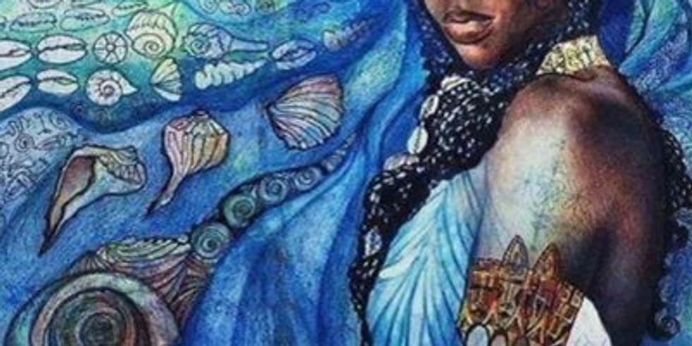 The Goddess Meditation - Yemaya, The Goddess of Oceans and Water healing!