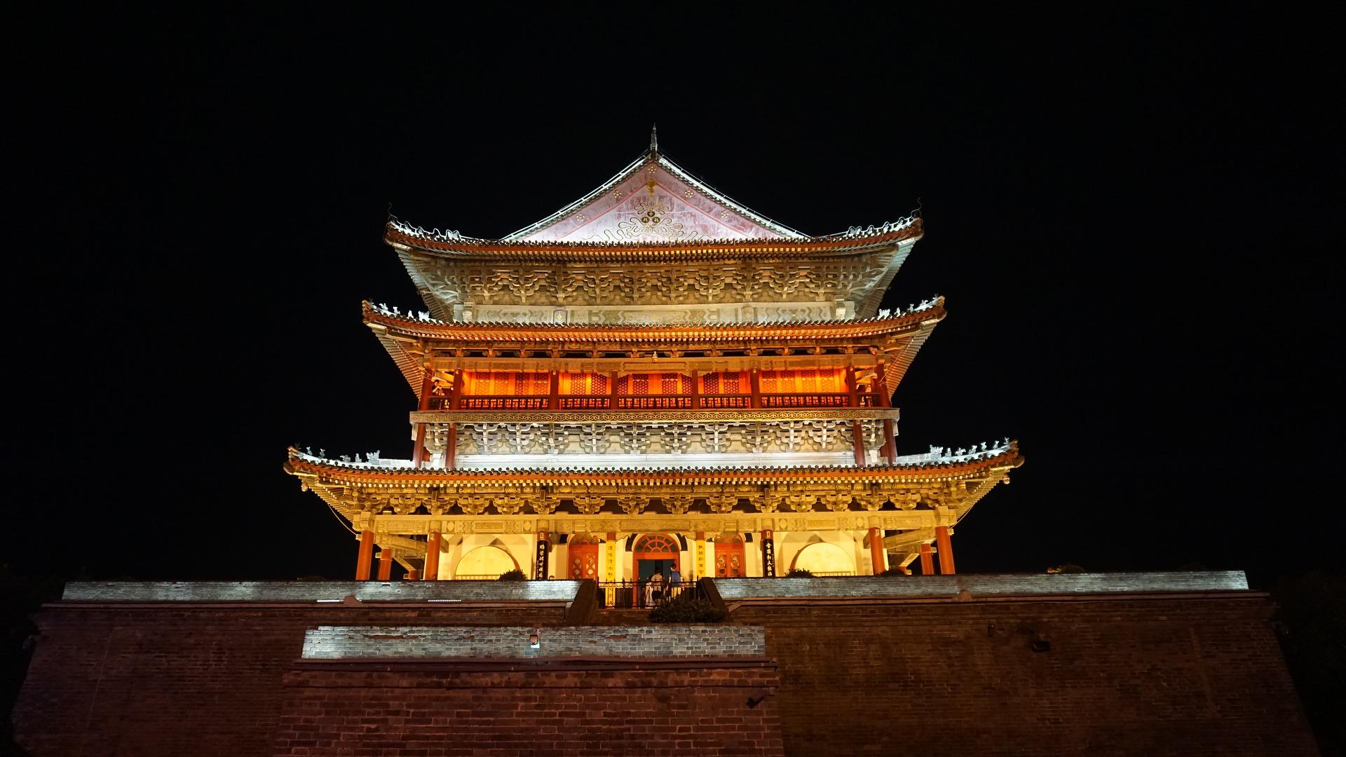 Xian Architecture - China