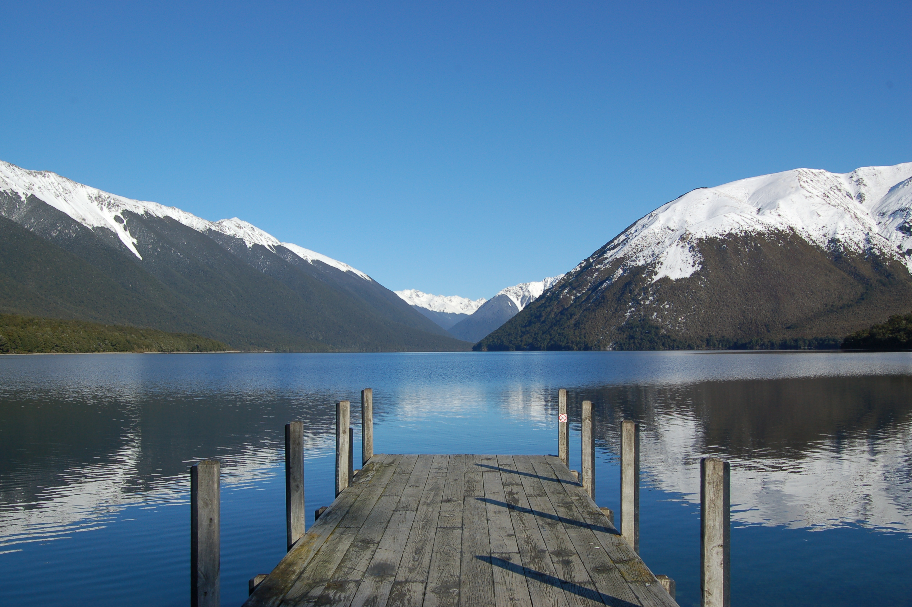 Nelson Lakes National Park Lake Rotoiti