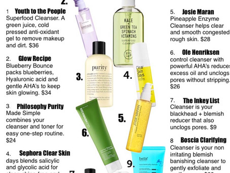 Are you Gel-ling? 9 Gel Cleansers You Need For Better Looking Skin
