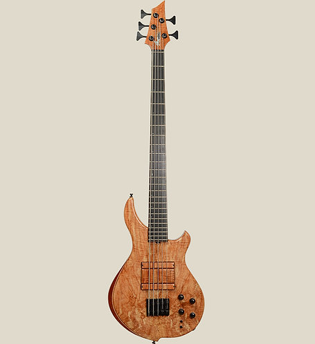 Marceau Guitars / DELICATE 5 Flamed maple