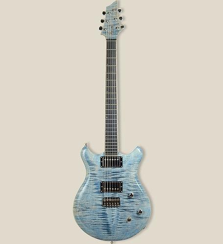 Marceau Guitars / EQUILIBRE Custom Faded Blue Jean