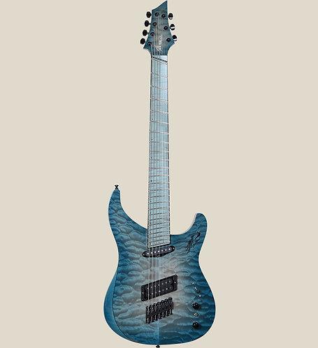 Marceau Guitars / FASCINANTE Custom 7 Green Ocean