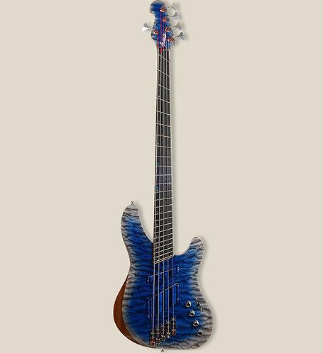 Marceau Guitars / EXCITANTE 5 Blue Whale