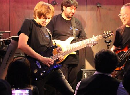Marceau Guitars on the road