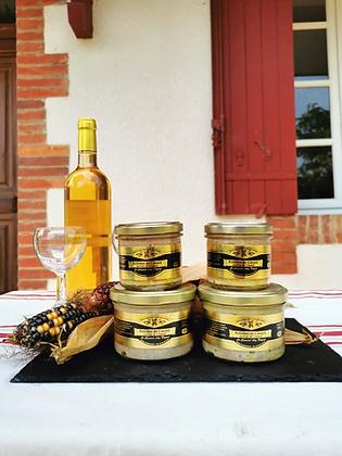 Rillettes au foie de canard - Verrine