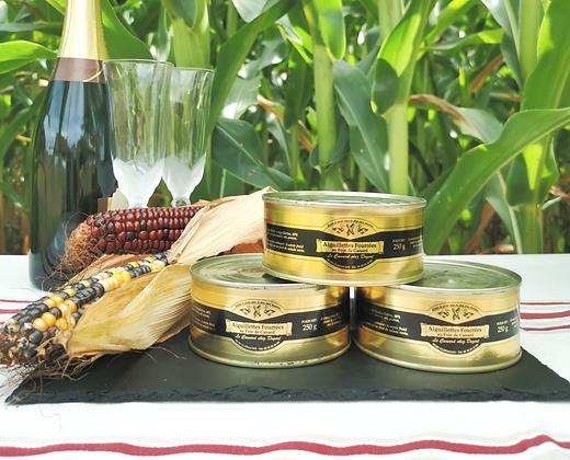 Aiguillettes fourrées au foie gras de canard