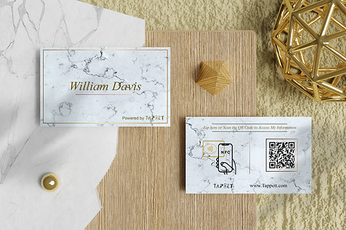 Smart Business Card - Marble