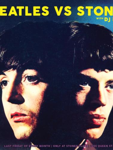 Beatles VS Stones at Stones Place, Toronto