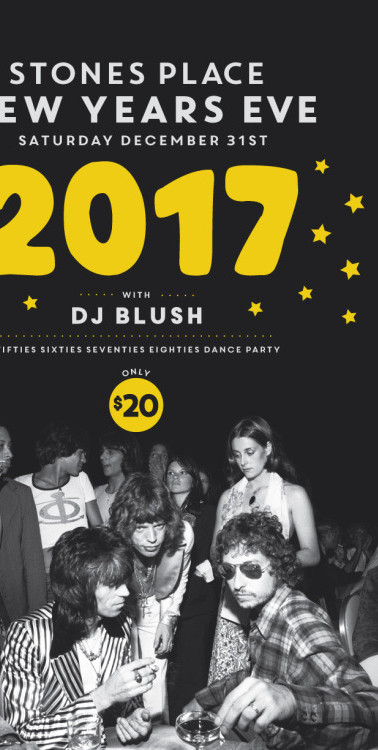 New Years Eve 2017 at Stones Place, Toronto
