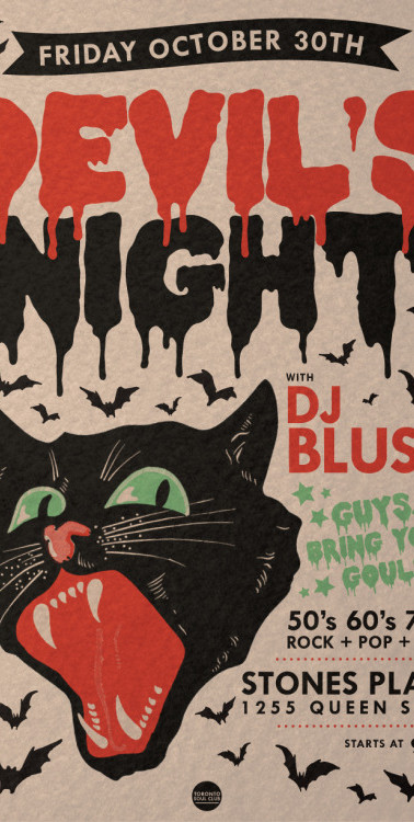 Devil's Night at Stones Place, Toronto