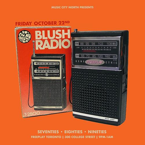 FREEPLAY Toronto | Blush Radio