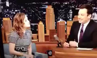 Actress Brie Larson mentions DJ Blush's dance party Shake Rattle & Roll on the Jimmy Fallon show, October 15th 2009
