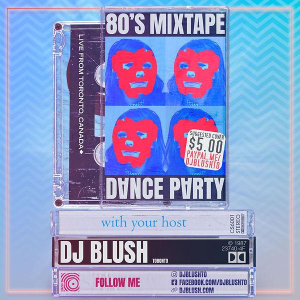 80's Mixtape Dance Party