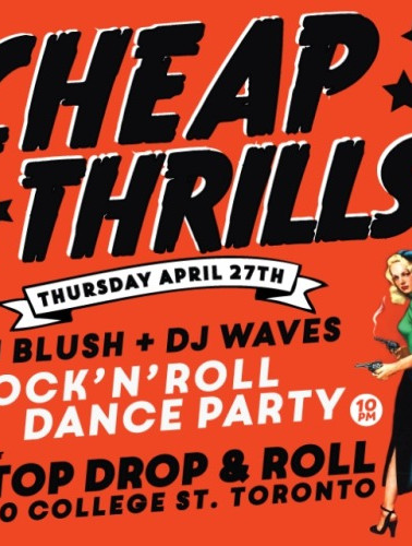 Cheap Thrills with DJ Waves at The Red Light, Toronto