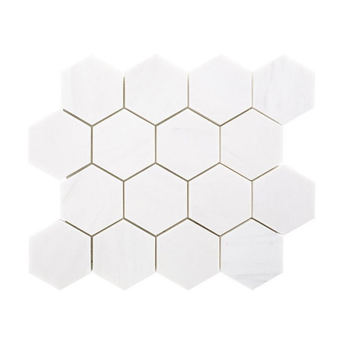 """3"""" Hexagon Dolomite"""