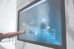 Interactive Touch Screen - Foyer1