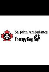Therapy Dog Program - St. John Ambulance