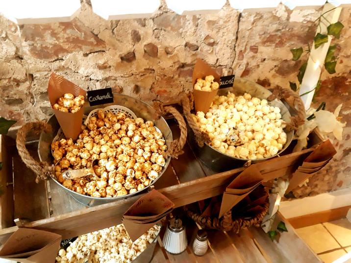 bar à popcorn pour mariage évènementiel perpignan pyrénées orientales décoration