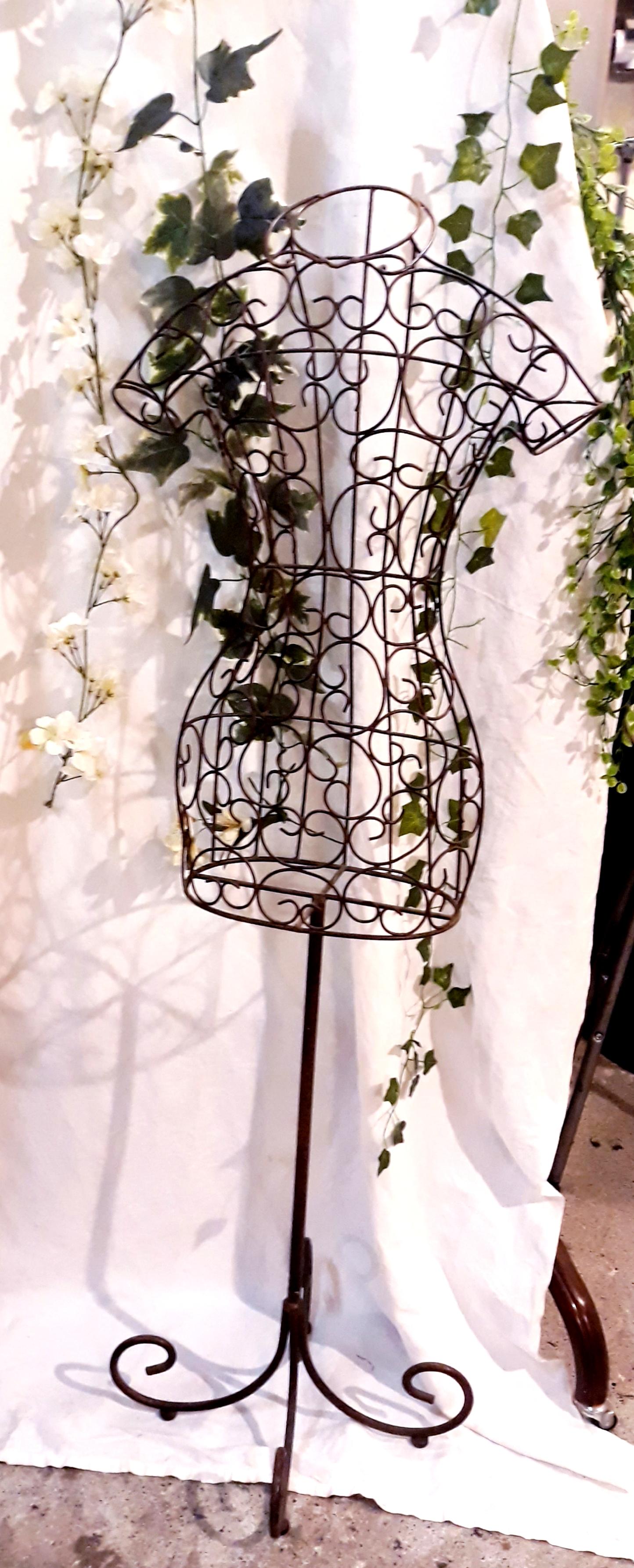 Buste fer forgé décoration mariage