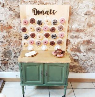 Bar à donuts rousquille pyrénnées orientales mariage décoration anniversaire