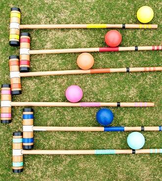 cricket en bois  jeu extérieur décoration animation mariage perpignan pyrénées orientales