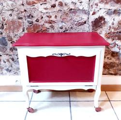 Petit meuble roulettes décoration 66