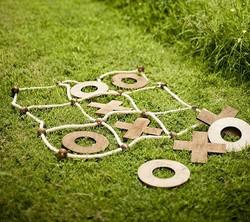 tic tac toe morpion en bois  jeu extérieur décoration animation mariage perpignan pyrénées orientale
