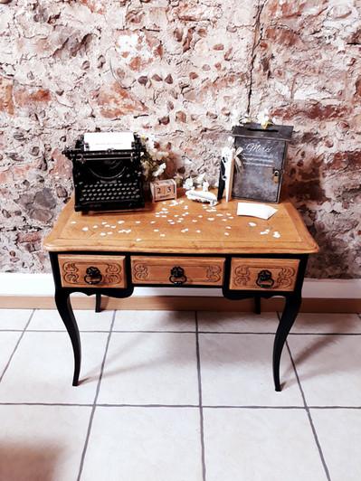 table location urne machine à écrire  décoration decoration mariage wedding evenement perpignan pyrenees orientales 66 vintage deco de lo