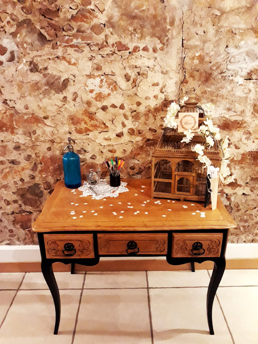 table urne location  décoration decoration mariage wedding evenement perpignan pyrenees orientales 66 vintage deco de lo