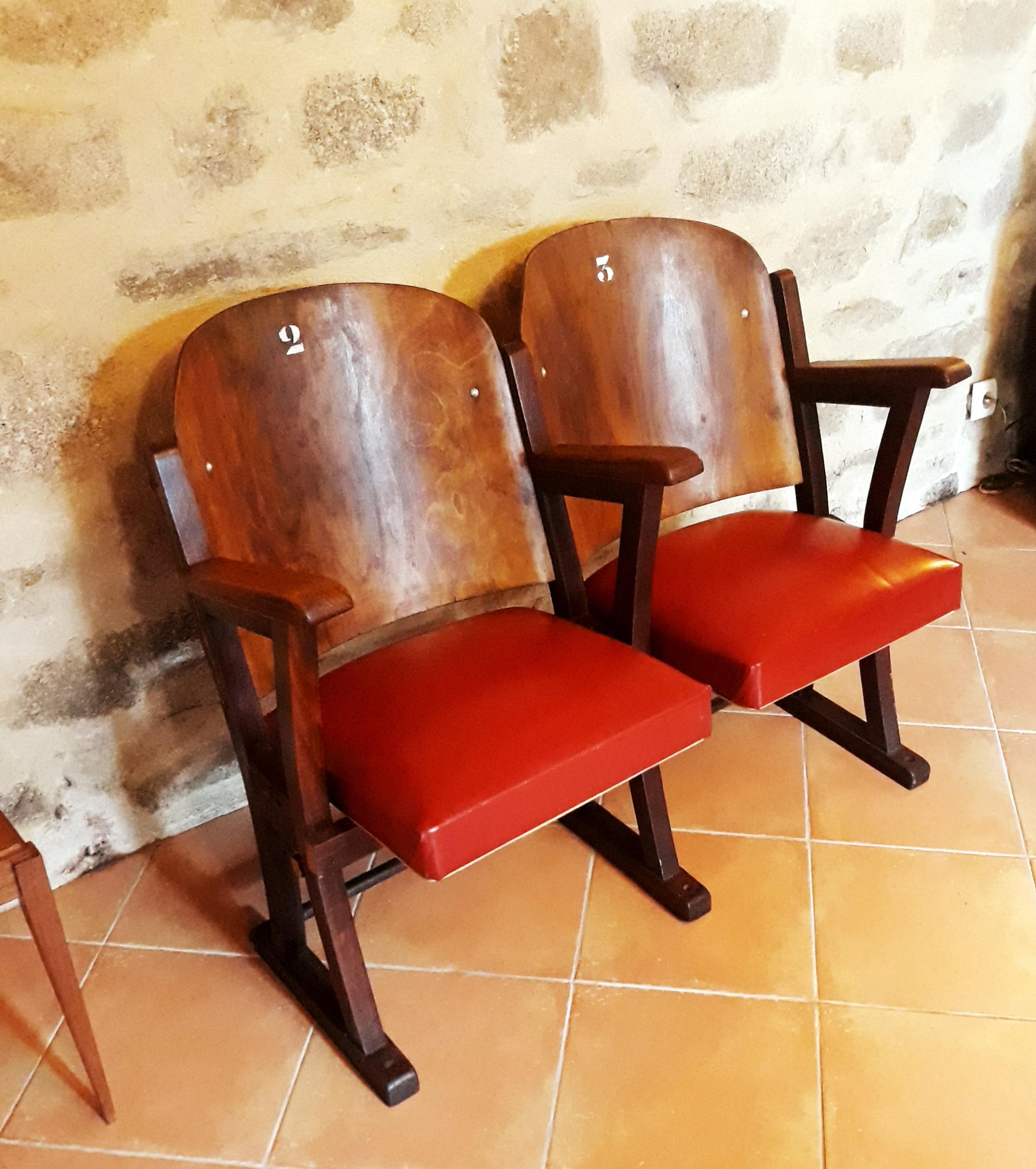 Anciens fauteuils cinéma perpignan