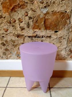Tabouret BUBU violet décoration 66