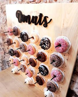 Bar à donuts anniversaire fête mariage location décoration wedding