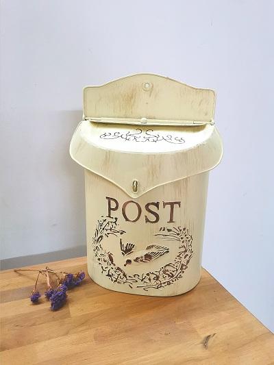 Boîte à lettre en métal